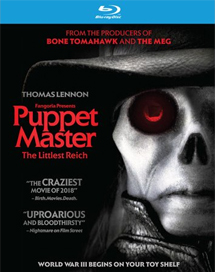 Puppet Master: The Littlest Reich (2018) - Blu-ray, DVD, Digital Copy