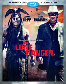 The Lone Ranger (2013) - Blu-ray, DVD, Digital Copy