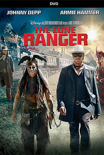 The Lone Ranger (2013) - DVD