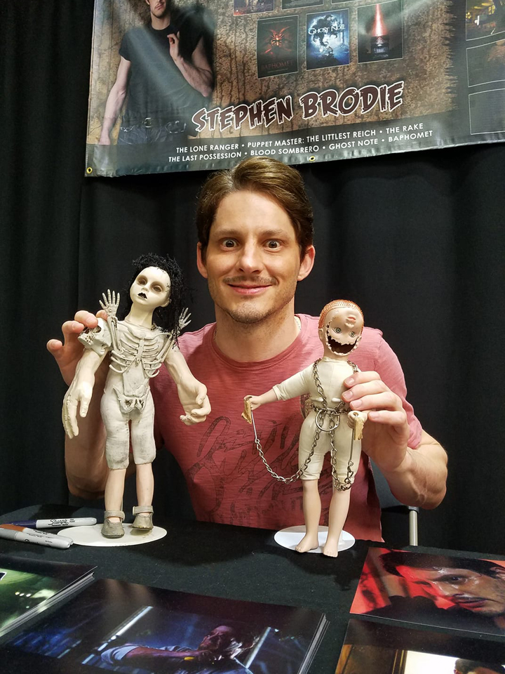 Stephen Brodie at Monster-Con!