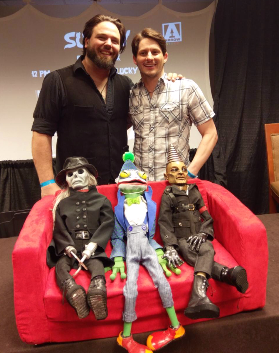 Stephen Brodie and Tate Steinsiek Unveiling New Puppets for PUPPET MASTER: THE LITTLEST REICH!