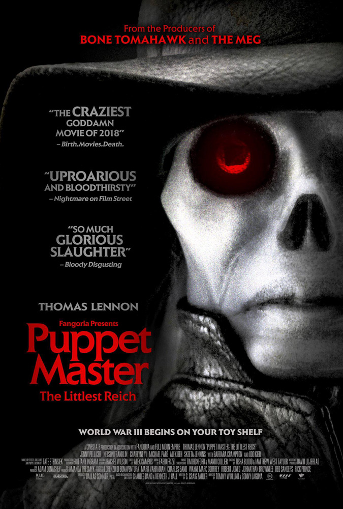 Poster for PUPPET MASTER: THE LITTLEST REICH!
