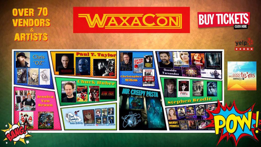 Stephen Brodie at Waxacon!